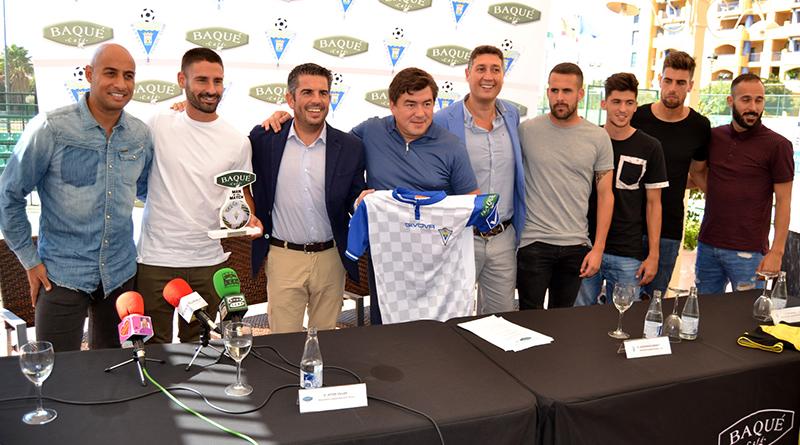 Patrocinio Marbella FC Baqué
