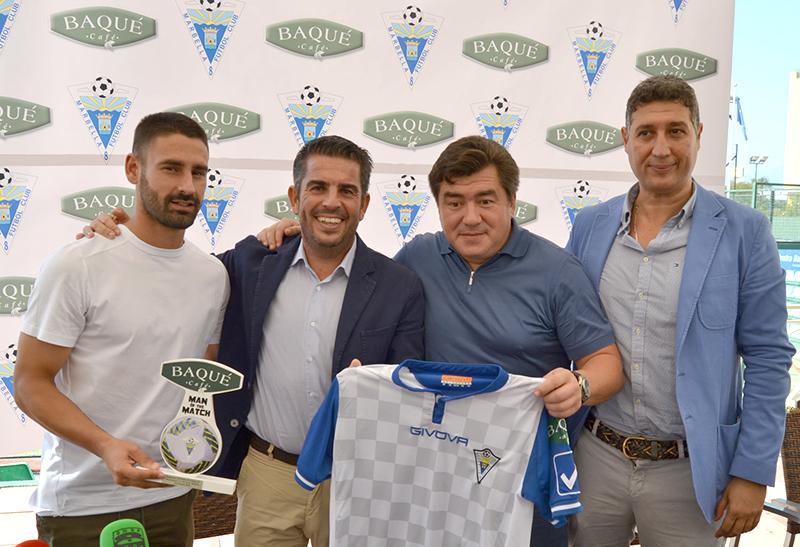 Patrocinio Marbella FC Cafés Baqué