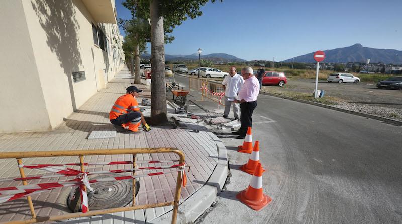mantenimiento barrios san pedro Alcántara