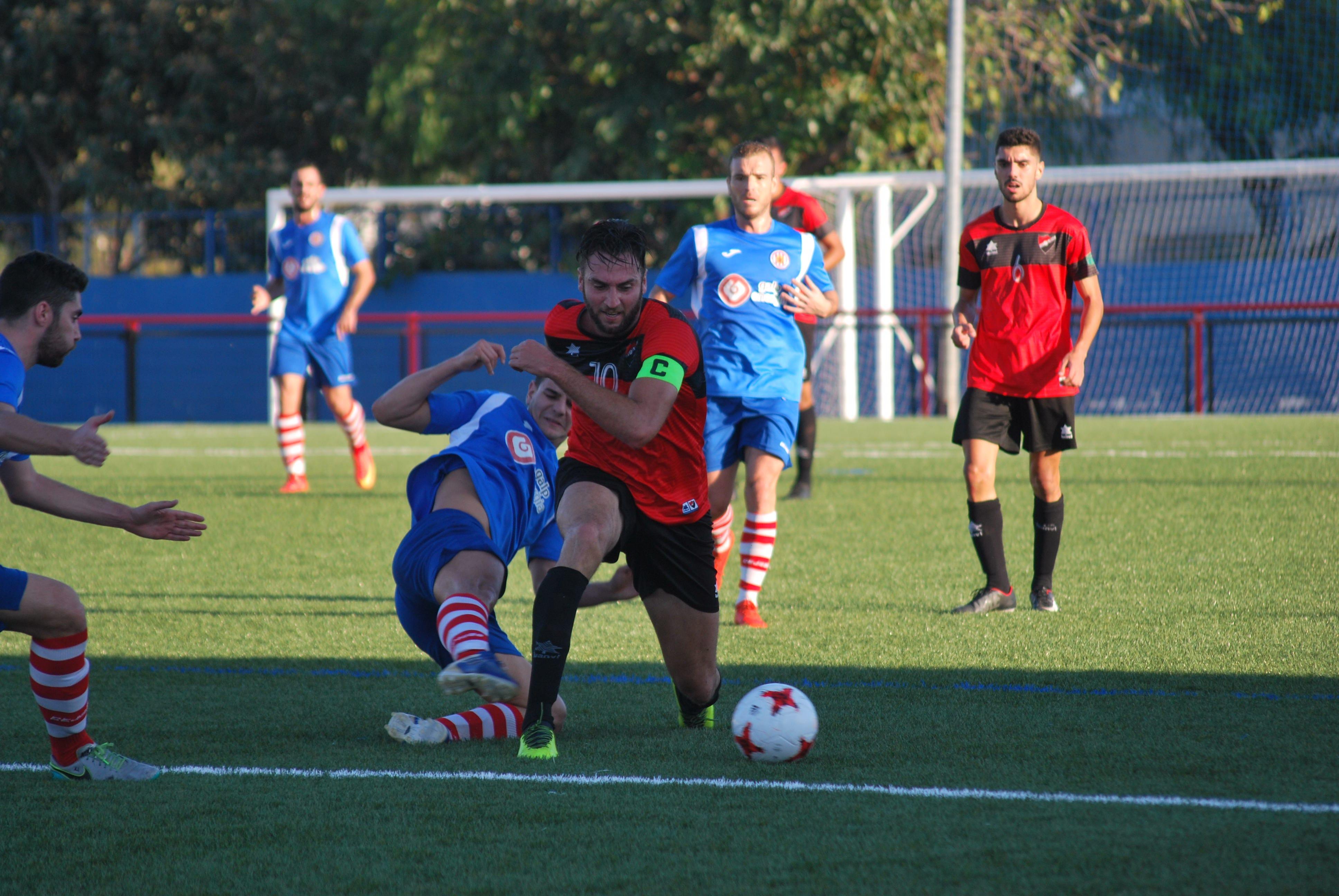 Partido con empate, igualado entre la U.D. San Pedro y el U.D.C. Torredonjimeno