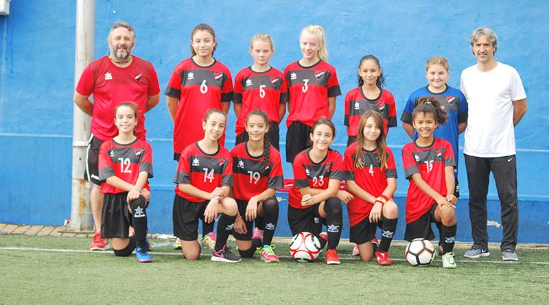 equipo femenino U.D. San Pedro