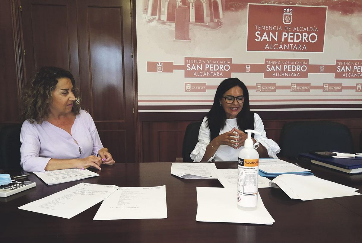 Entrevista a Rueda y Cintado, delegadas de Asuntos Sociales de Marbella y San Pedro