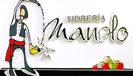 Sidrería Manolo logo