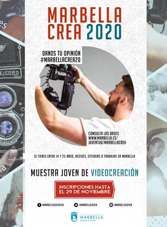 Anímate a participar en la Muestra de Videocreación de Marbella Crea