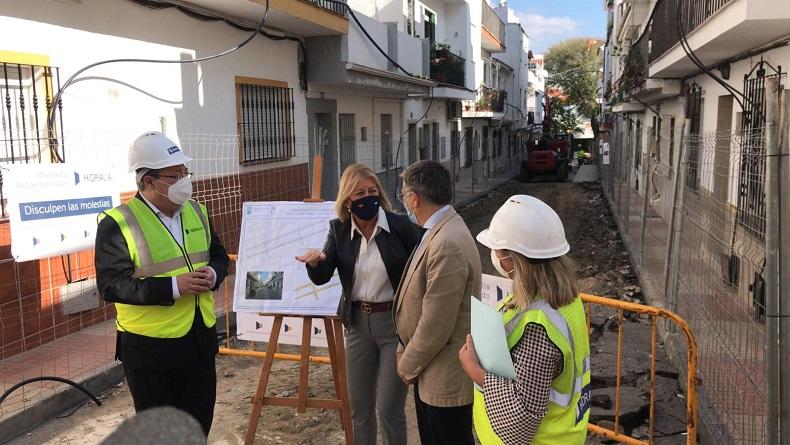En marcha una obra clave en la Zona de Los Catalanes