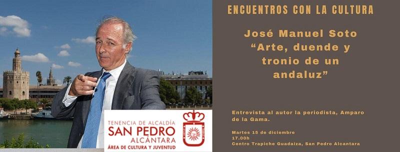 Hoy tenemos Encuentro con José Manuel Soto