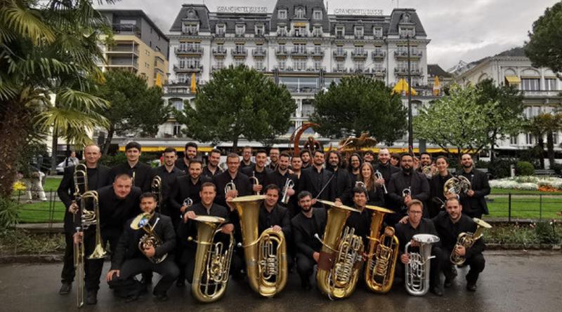 Málaga Brass Band este domingo en el Paseo de las Palmeras