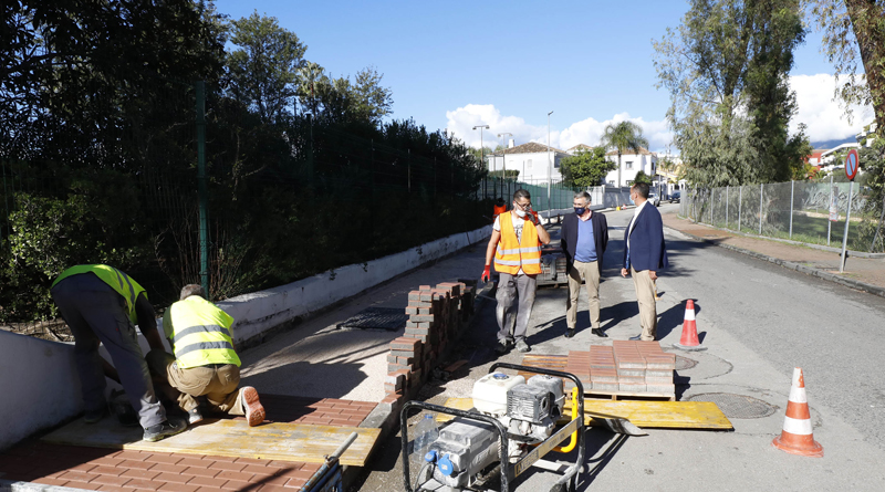 Mejora de la Seguridad Vial en la zona de Guadalmina Alta