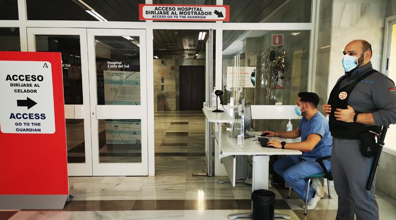El Hospital Costa del Sol implanta nuevas normas de acceso y acompañamiento de pacientes más estrictas