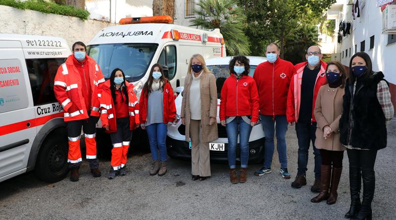 Programa Intemperie, para los sin hogar de Marbella