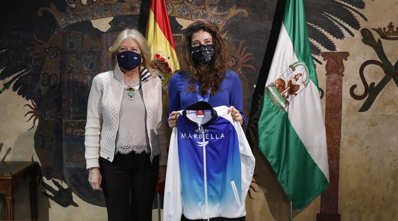 Recepción a Javier Díaz Carretero y Marina Castro por sus recientes éxitos