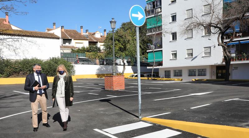 San Pedro incorpora 40 plazas de parking en el casco urbano