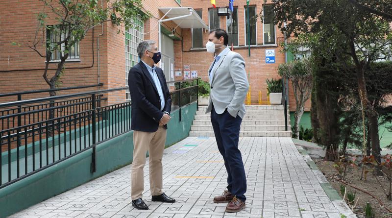 Resueltas ya el 70% de las incidencias planteadas por los colegios de San Pedro Alcántara