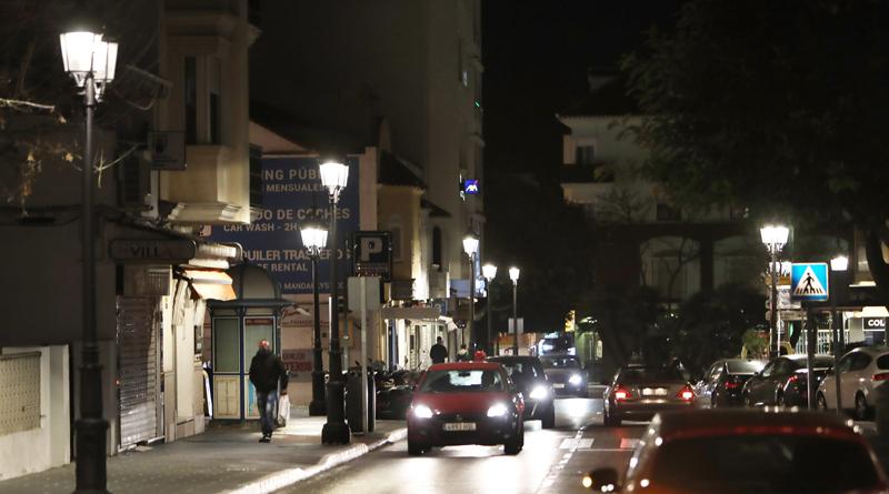 Sustituyen más de 200 puntos de luz en San Pedro por iluminación LED