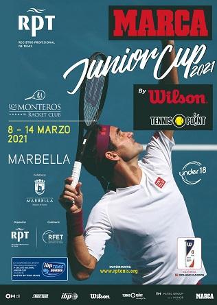 Marbella albergará hasta el 14 de marzo un torneo de tenis juvenil dentro del circuito nacional Marca