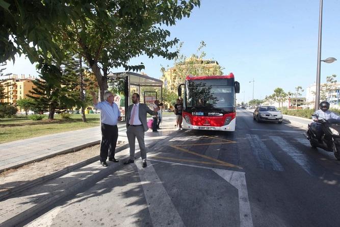 Intercambiador de autobuses para San Pedro Alcántara