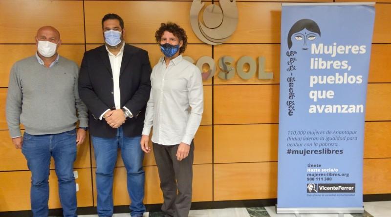 Acosol y la Fundacion Vicente Ferrer construiran estructuras hidricas