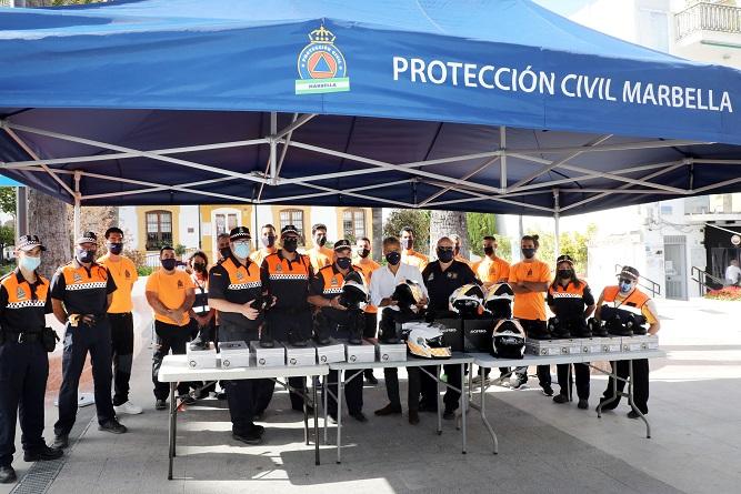 Proteccion Civil Marbella San pedro