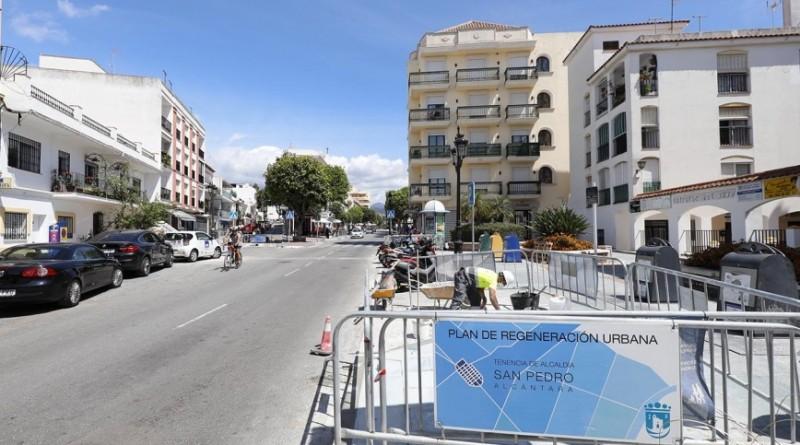 Obras en San Pedro