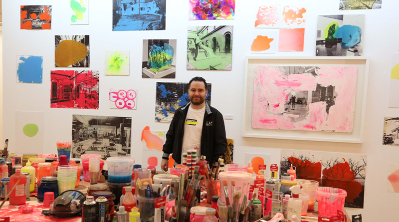 Pedro Peña el artista polivalente