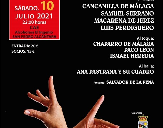 Cartel Flamenco San pedro 2021