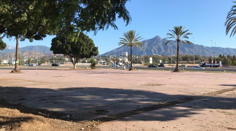 La parcela El Cielo de San Pedro, que albergará el intercambiador.